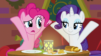"Pinkie Pie confused ""what's it?"" S6E12"