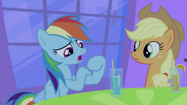 File:Rainbow Dash talking S2E25.png