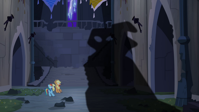 File:Shadow appears before Rainbow Dash and Applejack S4E03.png