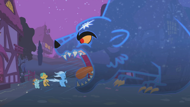 File:Ursa minor roaring at Trixie, Snips, and Snails S1E06.png