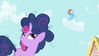 """Rainbow Dash """"I could do it in 10 seconds flat!"""" S1E1"""