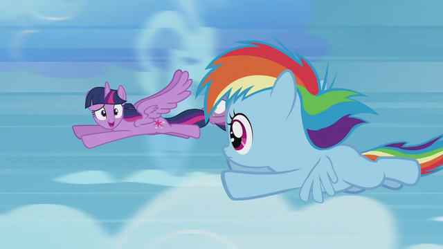 File:Twilight catches up with Rainbow Dash S5E25.png