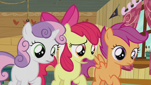 "File:Apple Bloom ""What's wrong, Pipsqueak?"" S5E18.png"