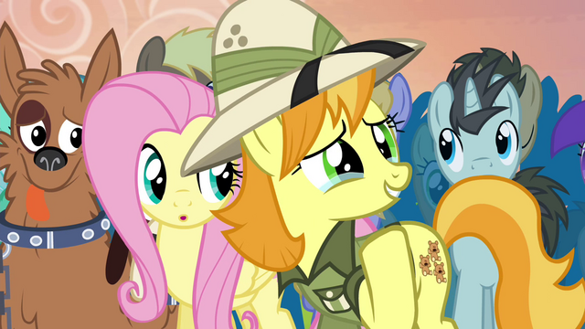 "File:Daring Do collector ""the sweetest thing I've ever heard"" S4E22.png"