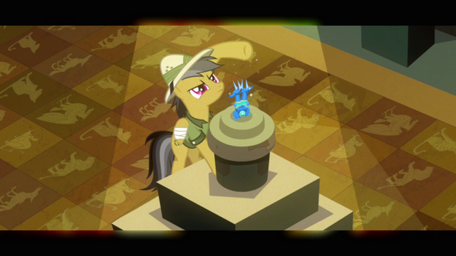 File:Daring Do seeing if there are any strings S2E16.png