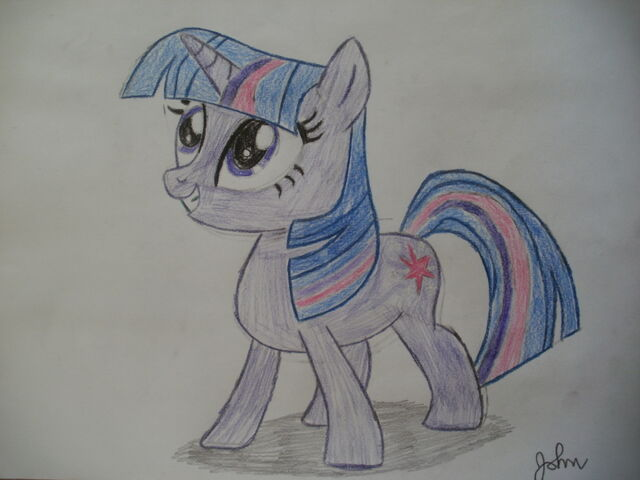 File:FANMADE Twilight Sparkle drawing.jpg