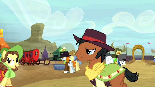 File:Ponies at the Appleloosa rodeo S5E6.png