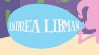 Andrea Libman credit balloon EG opening