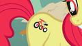 Apple Bloom tricycle fake cutie mark S1E12.png
