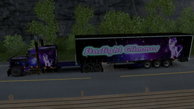 File:FANMADE ETS2 Pete 389 Custom - Starlight Glimmer Skin 2.png