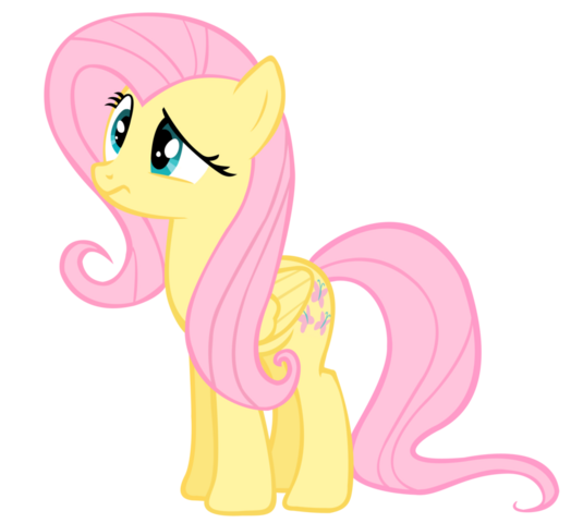 File:FANMADE Fluttershy Vector.png