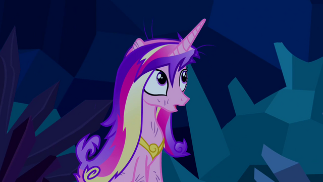 File:Princess Cadance uncovered S2E26.png