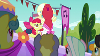 Apple Bloom and Orchard Blossom singing together S5E17