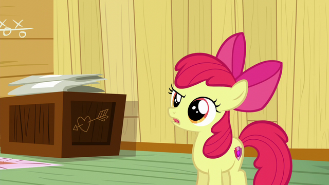 "File:Apple Bloom says ""Exactly"" S6E4.png"