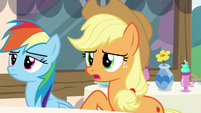 "Applejack ""I don't suppose that means"" S5E22"