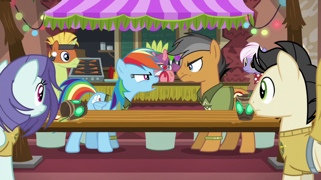 "File:Rainbow ""I could never be friends with somepony"" S6E13.png"