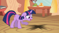 Twilight looking at floor S2E20