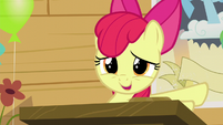 "Apple Bloom ""could just sit quietly in the corner"" S5E4"