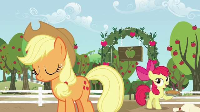 File:Apple Bloom with a pie S5E17.png