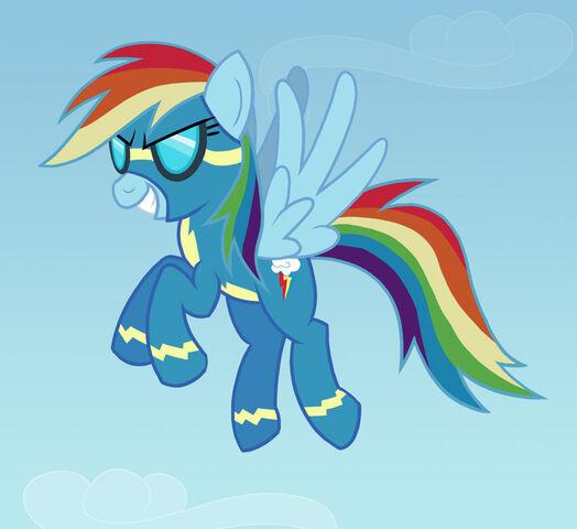 File:FANMADE Rainbow Dash=WONDERBOLT.jpg
