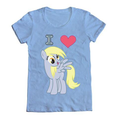 File:Merchandise T-Shirt I heart Derpy.jpg
