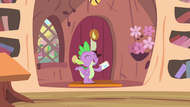 File:Spike 'Mail's here' S4E11.png