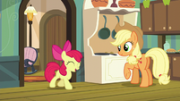 Apple Bloom joins AJ in singing S5E4
