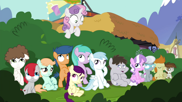 File:Foals hiding behind the bushes S4E15.png