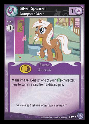 File:Silver Spanner, Dumpster Diver card MLP CCG.jpg