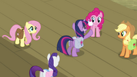 """Twilight Sparkle """"counting on us"""" S03E12"""