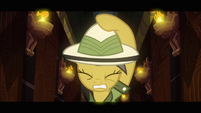 Daring Do bracing for trap S2E16