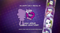 Pinkie Pie's Slumber Party - Rarity intro (European Spanish) EGM3
