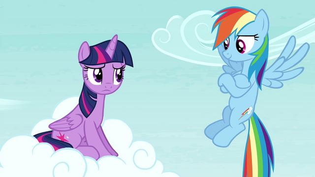 "File:Rainbow Dash ""you didn't even notice"" S4E21.png"
