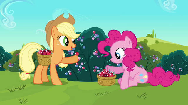 Datei:Applejack 'made sweets of crystal berries' S3E1.png