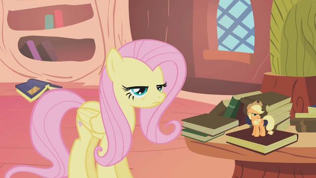 """File:Spike dubs Fluttershy """"Flutterguy"""" S1E09.png"""