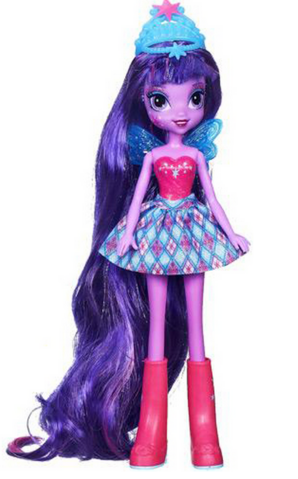 File:Twilight Sparkle Equestria Girls Through The Mirror doll.png