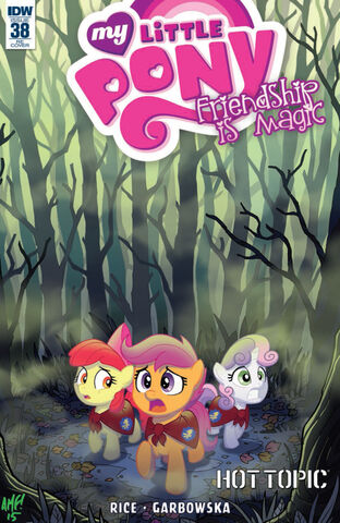 File:Comic issue 38 Hot Topic cover.jpg