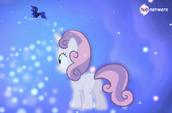 Sweetie Belle sees Princess Luna (Hub promotional) S4E19
