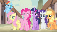Mane Six unsure of villagers' philosophy S5E1