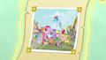 Photograph with Ponyville citizens S5 opening.png