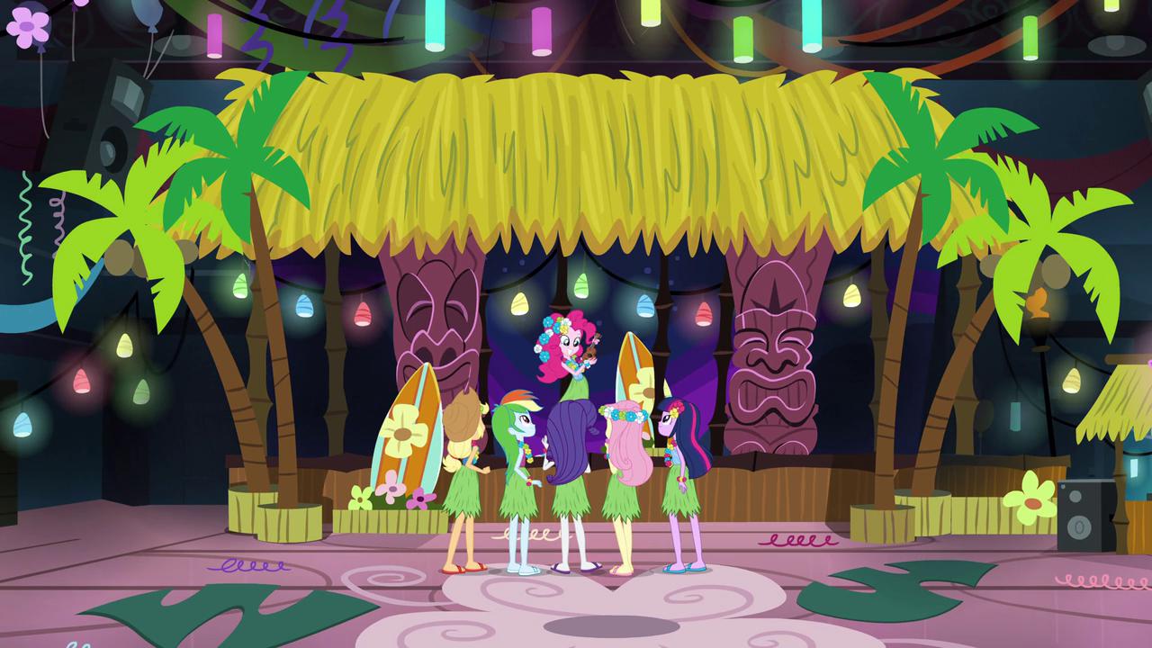 Image Pinkie Pie S Hawaiian Theme Eg2 Png My Little