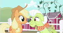 Applejack and Granny Smith S2E12