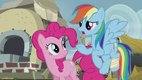 Rainbow Dash unsure S5E8