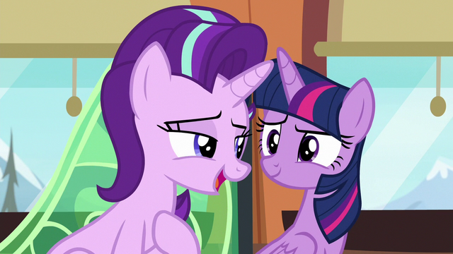 "File:Starlight Glimmer ""I wouldn't say mobbed"" S6E16.png"