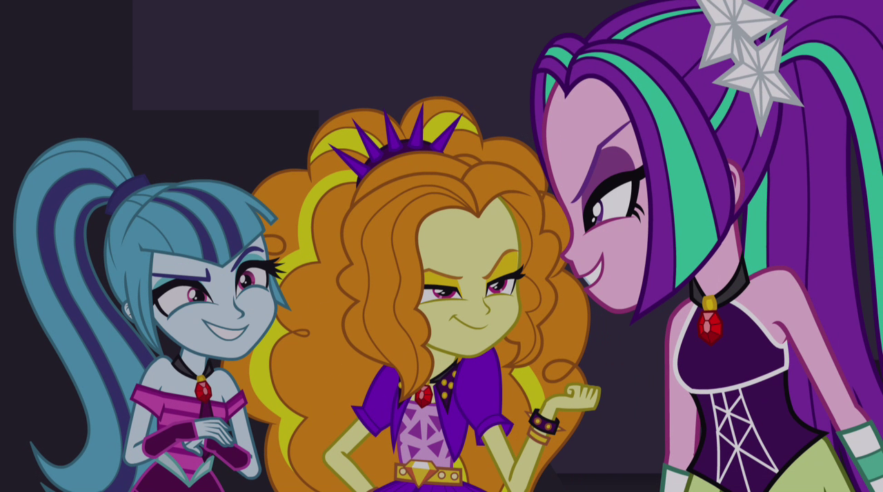 Image Dazzlings Grinning Evilly Eg2 Png My Little Pony