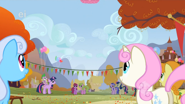 File:Every pony watches Pinkie Pie float away S1E13.png