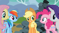 "Applejack ""everybody get it?"" S03E09"