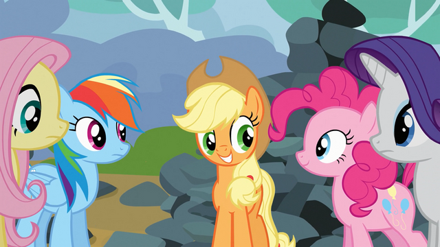 "File:Applejack ""everybody get it?"" S03E09.png"