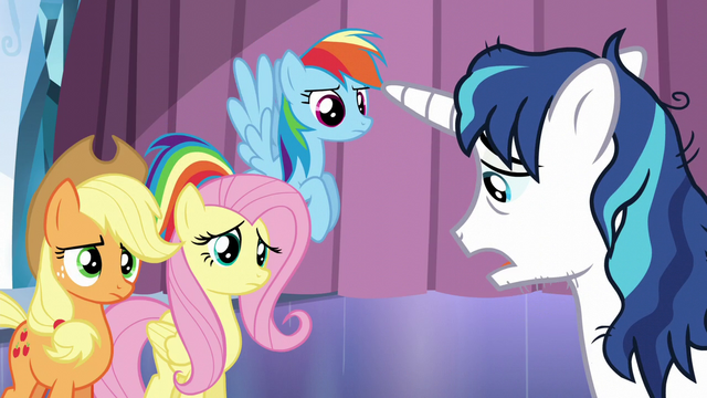 "File:Shining Armor ""more stressful than I ever thought"" S6E1.png"