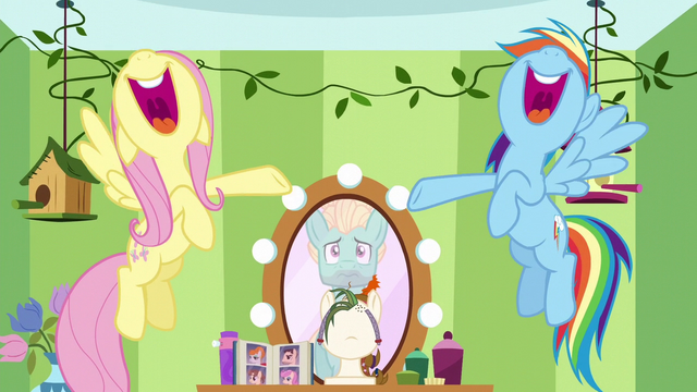 File:Fluttershy and Rainbow singing for Zephyr S6E11.png